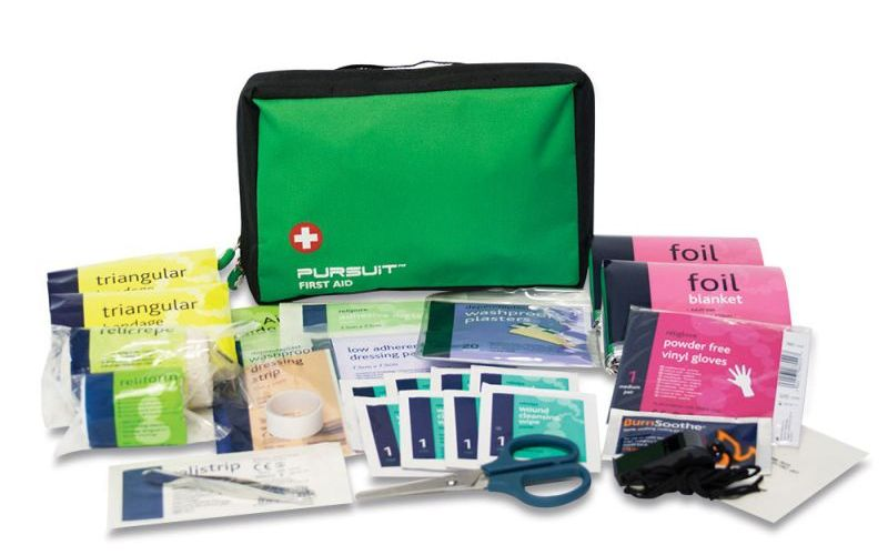 Our Large First Aid Kit for Camping and it's Contents