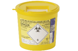 Sharpsguard Yellow Sharps Containers