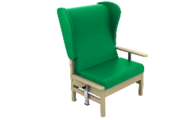 Sunflower Medical Bariatric Atlas Chairs with Intervene Upholstery