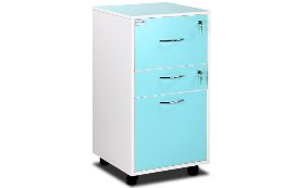 Two-Tone Hospital Bedside Cabinets