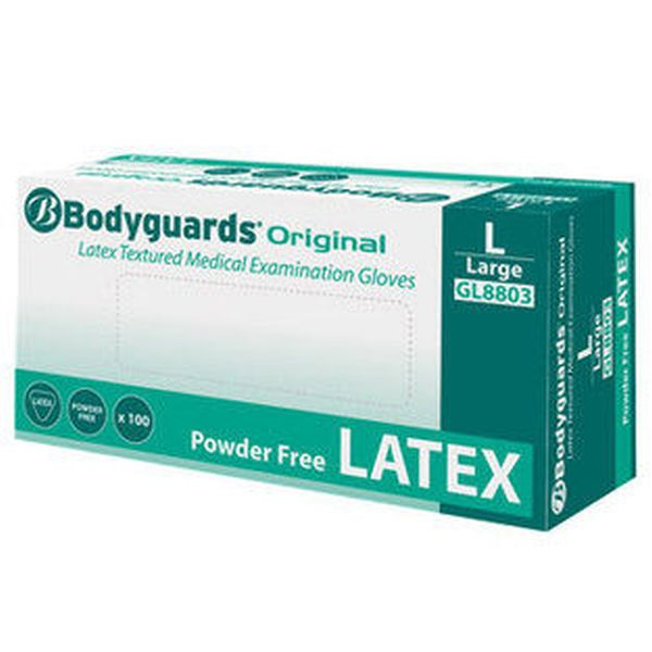 Polyco GL880 Bodyguards Original Latex Disposable Gloves