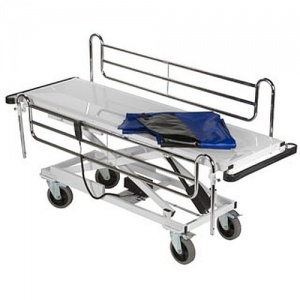 Bristol Maid Variable Height Concealment Trolley with Fixed Body Tray