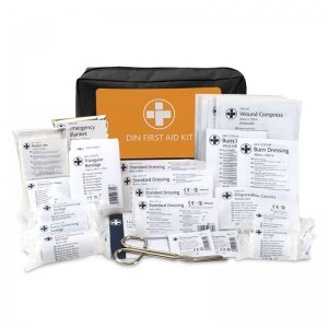 DIN 13164 Vehicle First Aid Kit for European Travel
