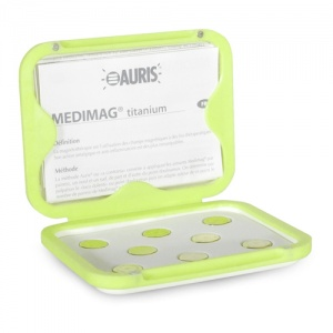 Auris Magnets Medimag Titanium 15mm Magnetic Therapy Spot Magnets