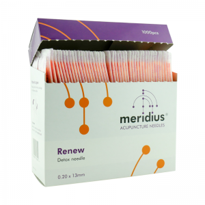 Meridius Renew Detox Needles for Acupuncture (Set of 1000)