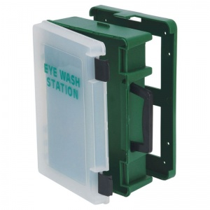 Basic Eye Wash First Aid Station (Empty Case)