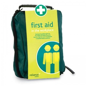 Basic HSE 10 Person Workplace First Aid Kit in Stockholm Zip Bag