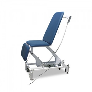Bristol Maid Electric Four-Section Treatment Chair with Foot Switch and Electric Backrest