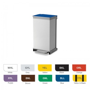 Bristol Maid 75-Litre Hands-Free and Rust-Free Medical Bin with Removable Body
