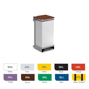 Bristol Maid 20-Litre Silent Hands-Free and Rust-Free Medical Bin with Removable Body