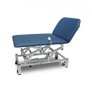 Bristol Maid Electric Bariatric Bobath Therapy Couch with Foot Switch
