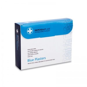 Dependaplast Advanced Blue Plasters (Pack of 100)