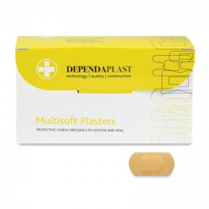 Dependaplast Multisoft Plasters (Pack of 100)