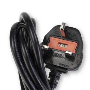 UK Mains Lead for DeVilbiss VacuAide Suction Machines