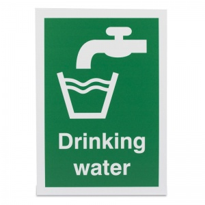 'Drinking Water' Safety Sign