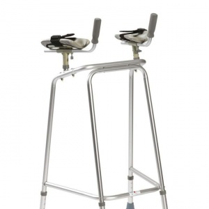 Drive Medical Ultra Narrow Large Walking Frame with Forearm Platforms