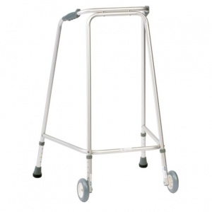 Drive Medical Hospital Large Walking Frame with Wheels