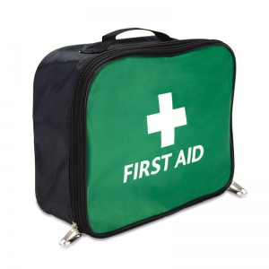 Green Bordeaux First Aid Bag (Empty)