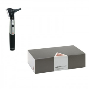 HEINE Mini 3000 Otoscope Set with 1000 Disposable Tips Saver Pack