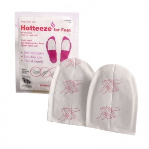 Hotteeze for Feet Self-Adhesive Heat Pads (Pack of 5 Pairs)
