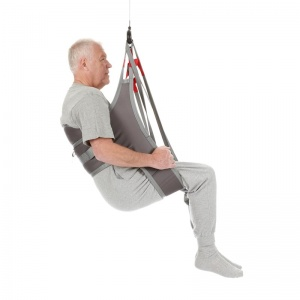 Hygiene Lifting Sling with Back Support