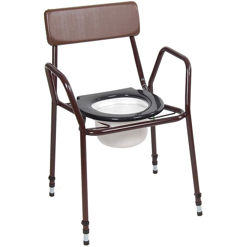 Harvest Stackable Adjustable Commode Chair  sc 1 st  Medical Supplies - MedicalSupplies.co.uk & Harvest Stackable Adjustable Commode Chair - MedicalSupplies.co.uk