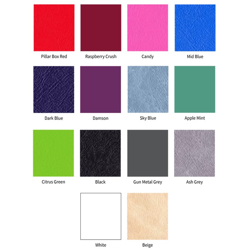 Medi-Plinth Colour Swatches