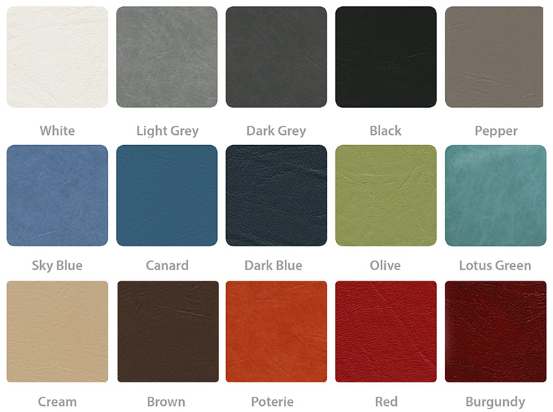 SEERS Couch Colour Swatches