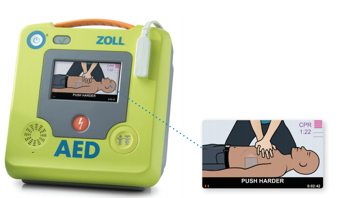 CPR Guidance With The AED 3 Defibrillator