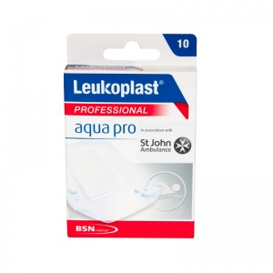 Leukoplast AquaPro Professional Water Resistant Plasters (Pack of 10 Plasters)
