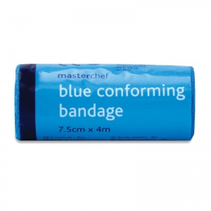 Masterchef Blue Conforming Catering Bandage
