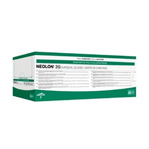 Medline Neolon 2G Latex-Free Polychloroprene Sterile Powder Free Surgical Gloves