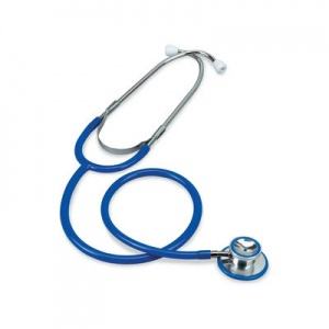 Merlin Medical Blue Dual Head Stethoscope