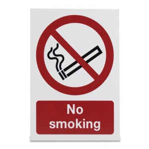 'No Smoking' Warning Sign