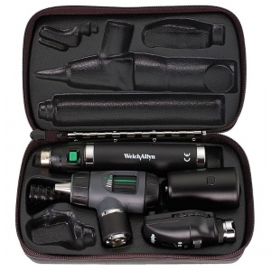 Welch Allyn Prestige Ophthalmoscope and Otoscope Dignostic Set with Lithium Ion Handle