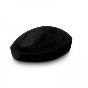 Purekeys Black Disinfectable Wireless Mouse with Touch Scroll
