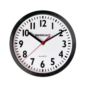 Large Shatterproof Easy-to-See Quartz Wall Clock