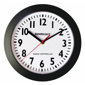 Large Radio-Controlled Wall Clock (Pack of 5)