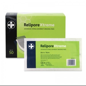 Relipore Advanced Sterile Adhesive Dressing Pads
