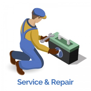 Repair Service for the DeVilbiss VacuAide 7305 Portable Suction Machine