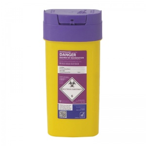 Sharpsguard Cyto 0.6L Sharps Container (Case of 48)