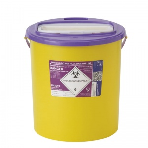 Sharpsguard Cyto 22L XA High-Volume Sharps Container (Case of 7)
