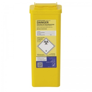 Sharpsguard Yellow 0.5L Sharps Container (Case of 60)