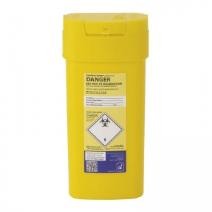 Sharpsguard Yellow 0.6L Sharps Container (Case of 48)