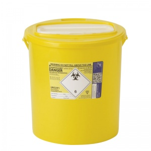 Sharpsguard Yellow 22L XA High-Volume Sharps Container (Case of 7)