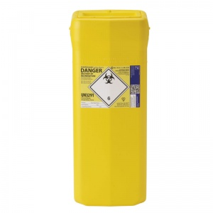 Sharpsguard Yellow 35L Theatre Sharps Bin (Case of 4)