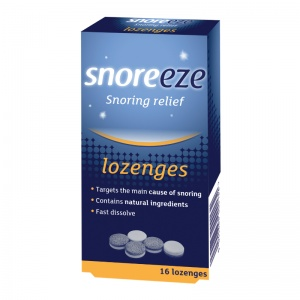 Snoreeze Dual-Action Stop Snoring Lozenges (Pack of 16)