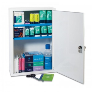 Medium Workplace First Aid Kit Plus in Sofia Metal Cabinet