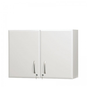 Sunflower Medical 100cm Wall Cabinet in White High Gloss