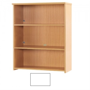 Sunflower Medical White 120cm High Bookcase